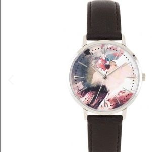 VINCE CAMUTO Water color dial watch w/original box